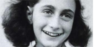 Ouça os relatos de Anne Frank