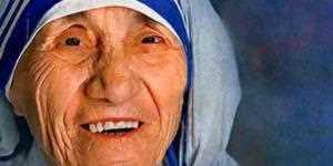 Clique e ouça a biografia de Madre Teresa