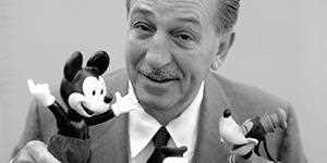 Clique e ouça a biografia de Walt Disney